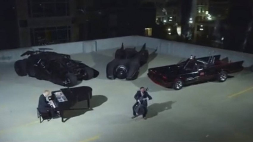 The Piano Guys Batman Evolution Batmobil