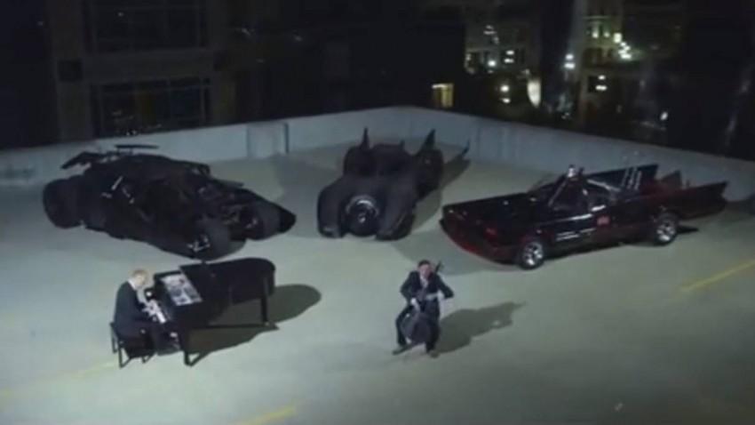 The Piano Guys Batman Evolution Batmobil