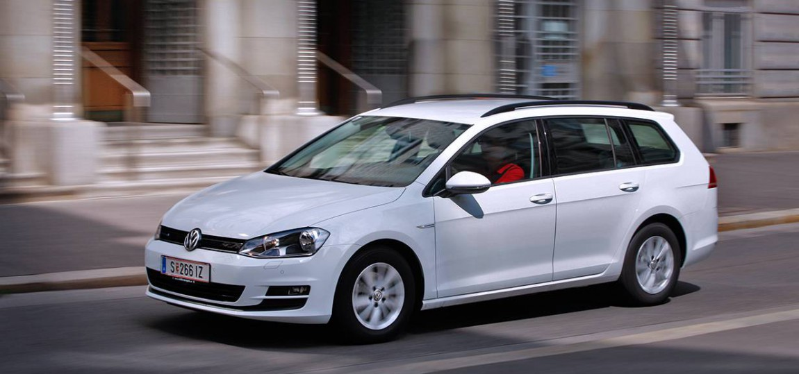 Gasgeben, aber richtig: VW Golf TGI Variant