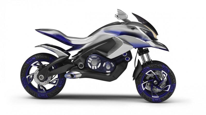 Yamaha 01gen concepttrike concept trike eicma mailand 2014