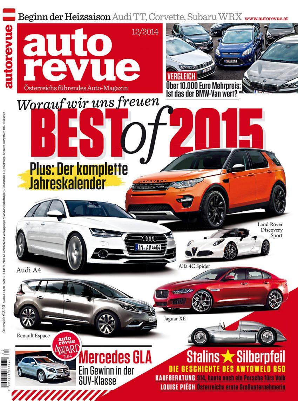 Autorevue Magazin-Archiv: Ausgabe 12/2014