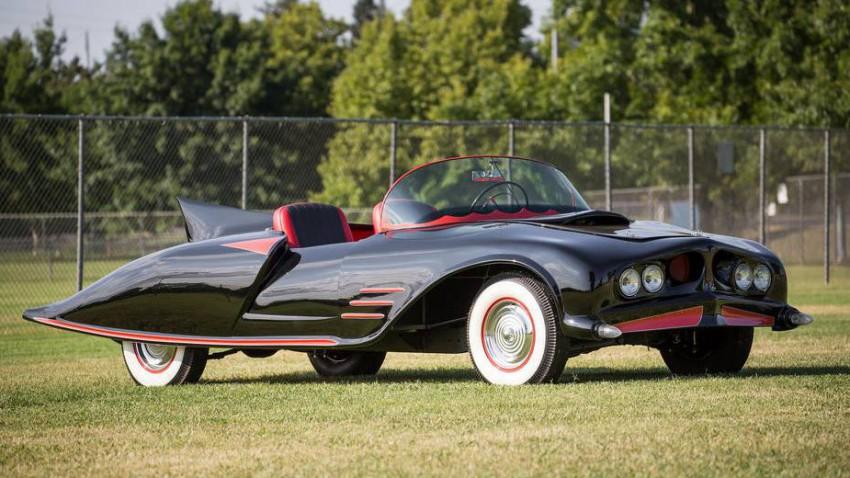 Erstes Batmobil aus 1958 wird versteigert