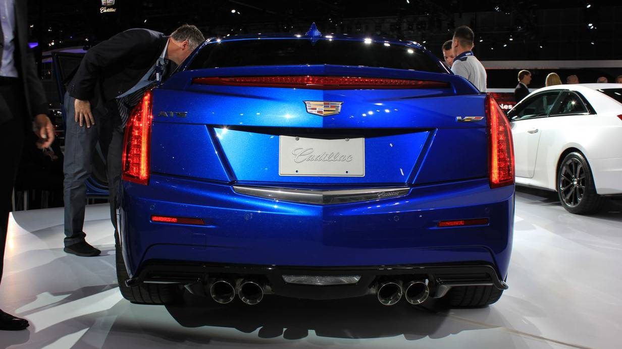 Cadillac ATS V Coupé
