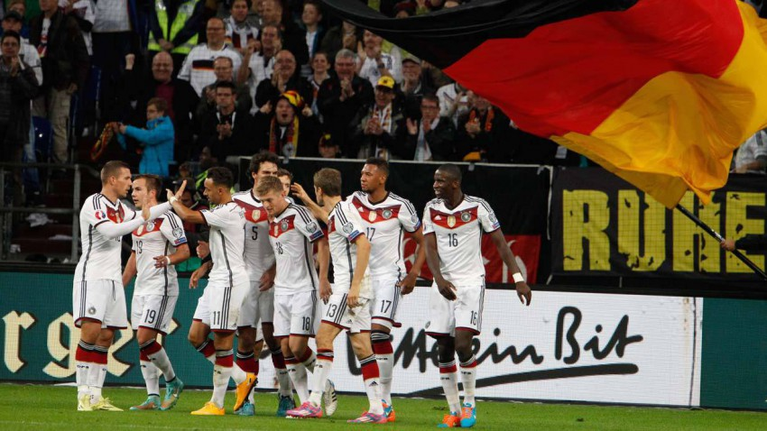 Deutschland gegen Gibraltar am 14.11.2014 um 20:45 Uhr.