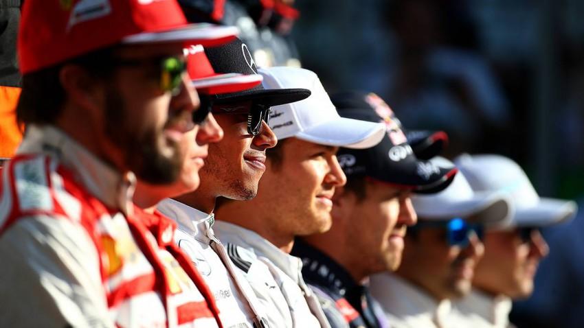 Lewis Hamilton hat in der Saison 2014 mehr als die Hälfte der Rennen gewonnen. An Vettel und Schumacher kommt er aber nicht ran. © Mark Thompson/Getty Images