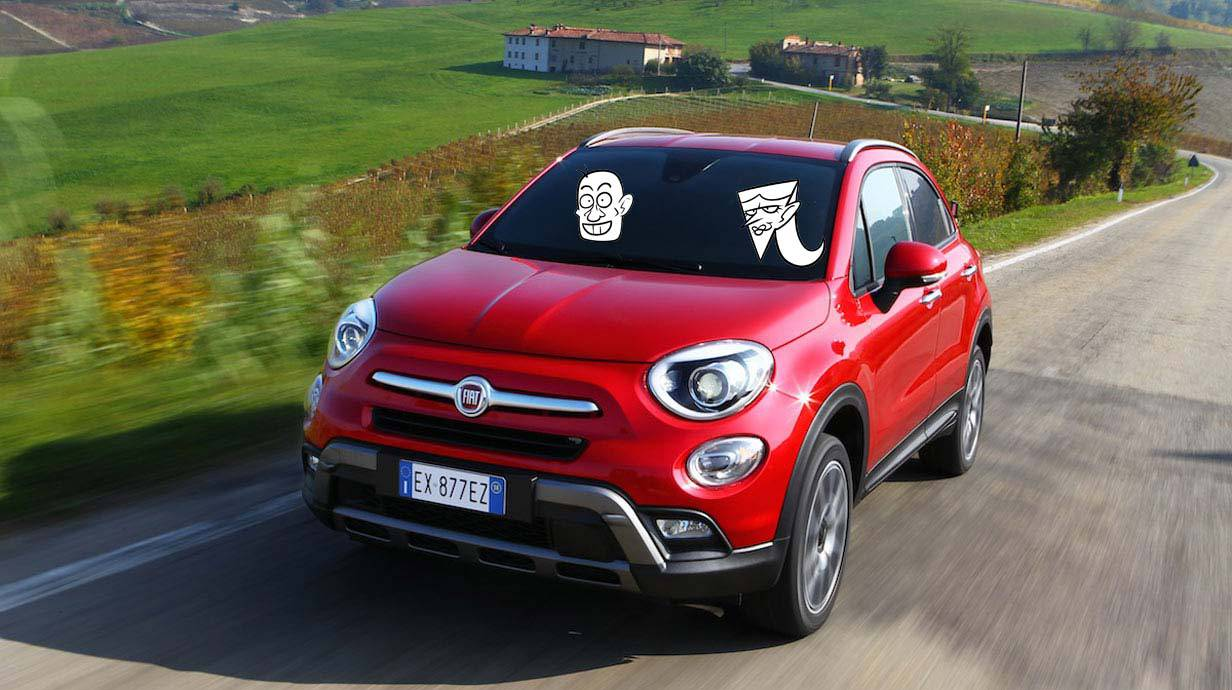 der fiat 500x 500 steigt zum mini suv auf. Black Bedroom Furniture Sets. Home Design Ideas