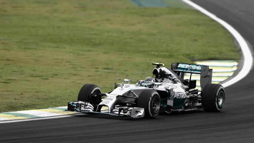 Rosberg fand sich in Sao Paulo am besten zurecht,