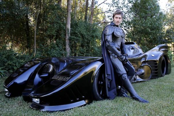 Batman, demaskiert.