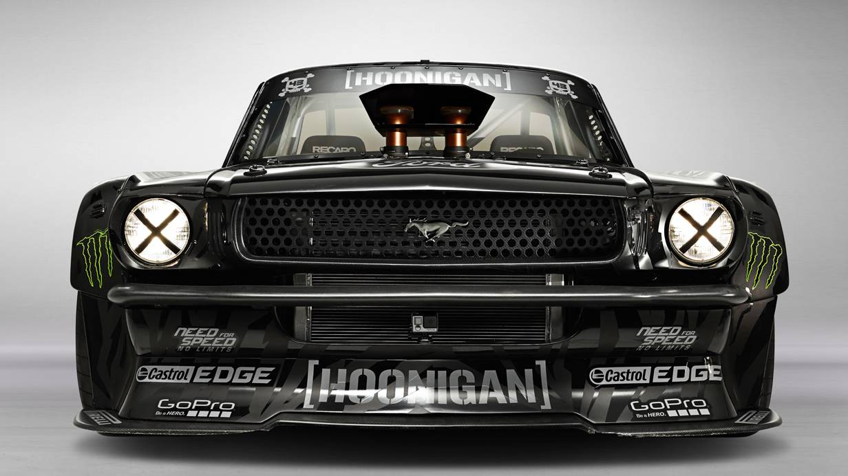 Ken Block Hoonicorn RTR Gymkhana 7 Los Angeles Ford Mustang 1965