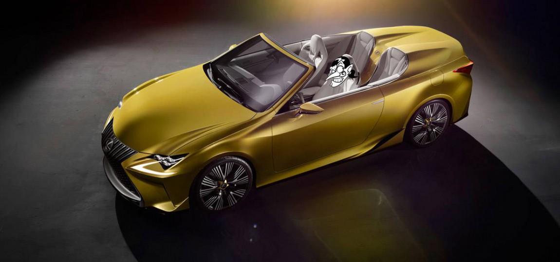 Premiere auf der Los Angeles Auto Show 2014: das Lexus LF-C2 Concept.