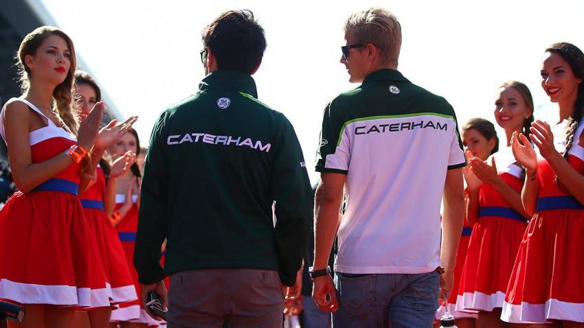 .. dabei ist Caterham drauf und dran den Start beim Saisonfinale doch noch finanzieren zu können. © Mark Thompson/Getty Images