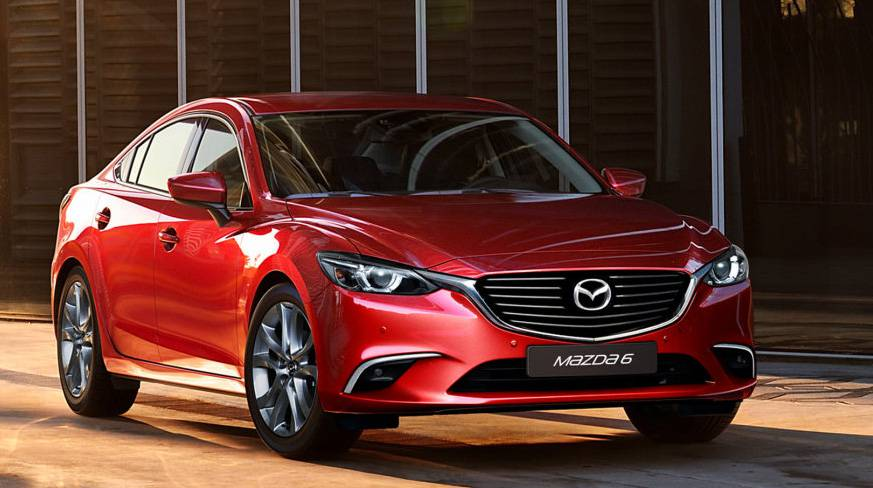 la autoshow facelift f r mazda6 und cx 5. Black Bedroom Furniture Sets. Home Design Ideas