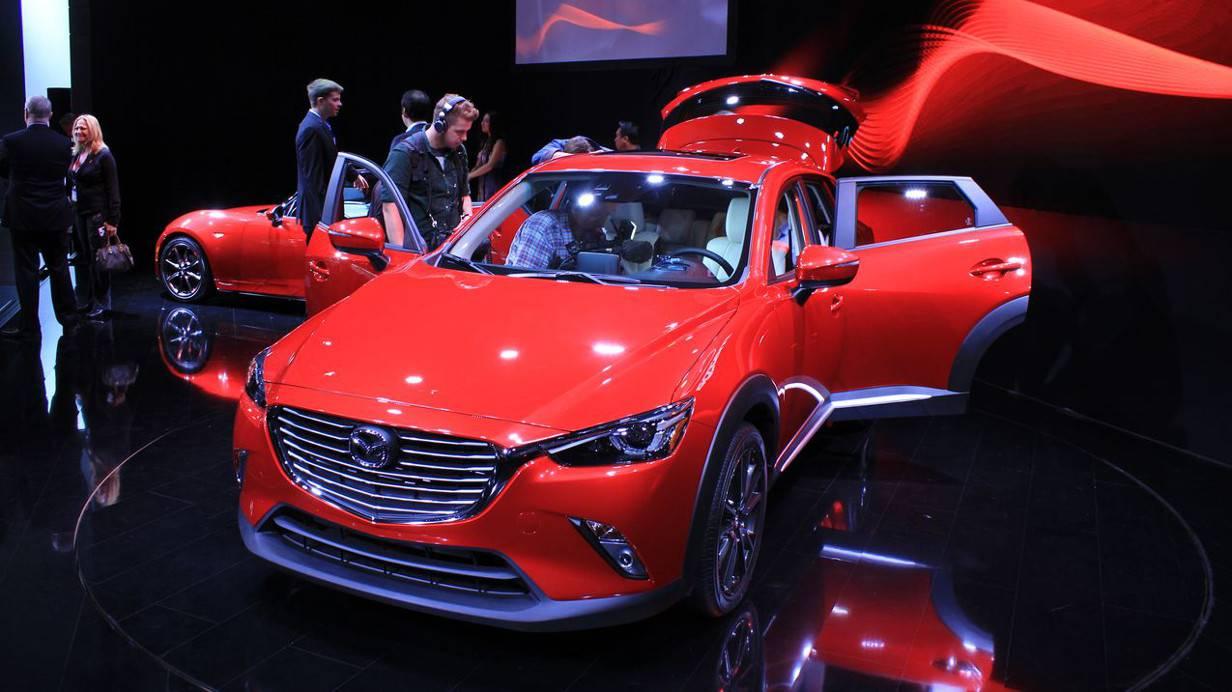 Der Mazda CX-3