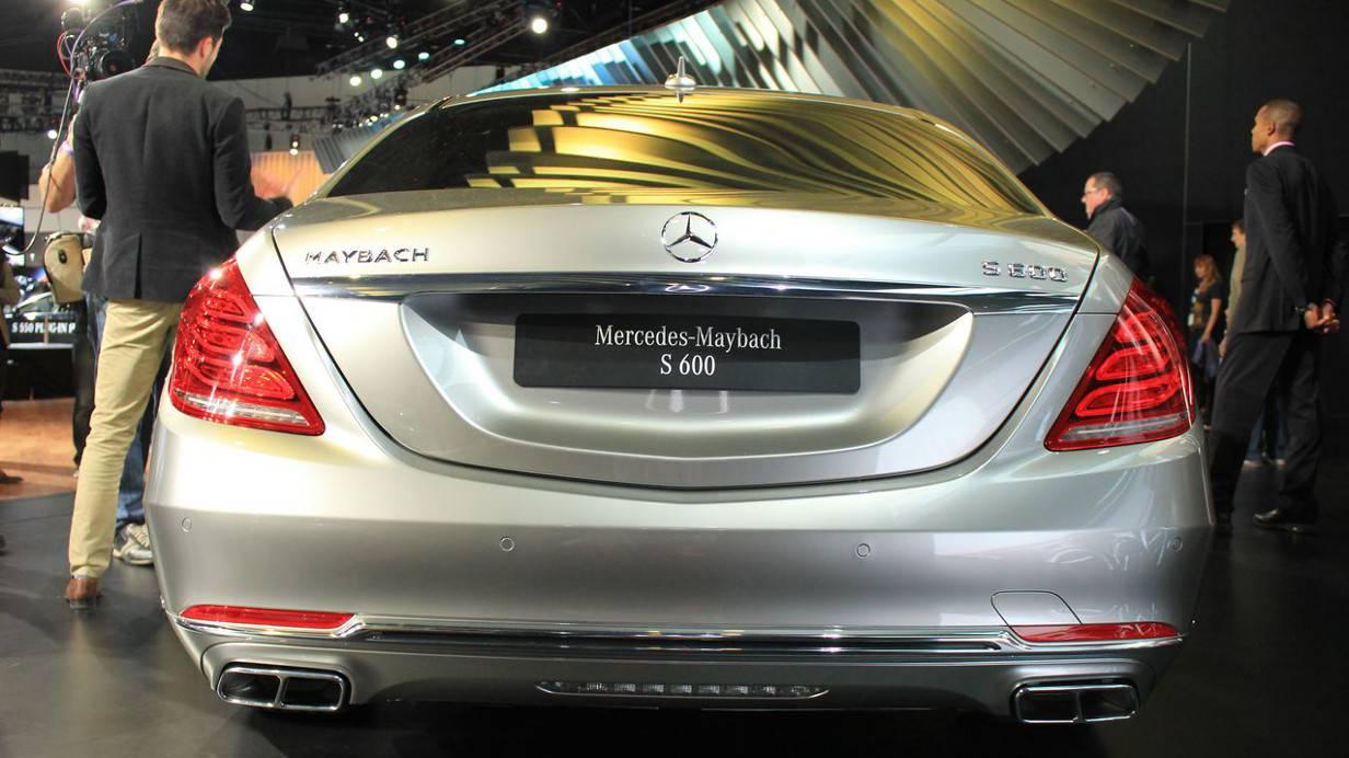 Der Mercedes Maybach S600