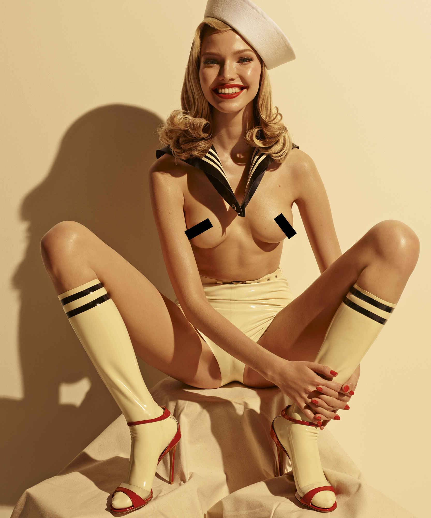 Miss August- Sasha Luss