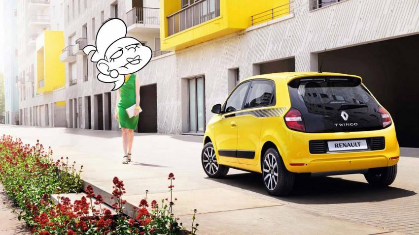 Die 3. Generation des Renault Twingo.