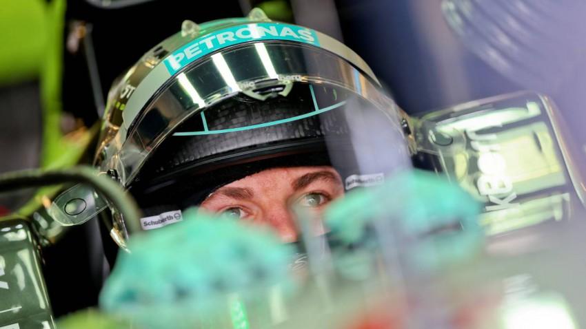 Rosberg wollte Hamilton unter Druck setzen - das gelang ihm auch.