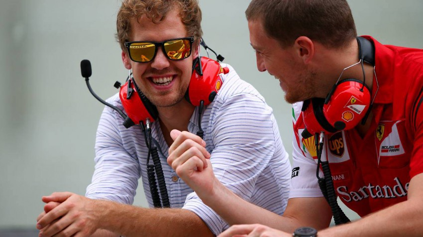 Vettel hat sich seinen Kindheitstraum erfüllt.