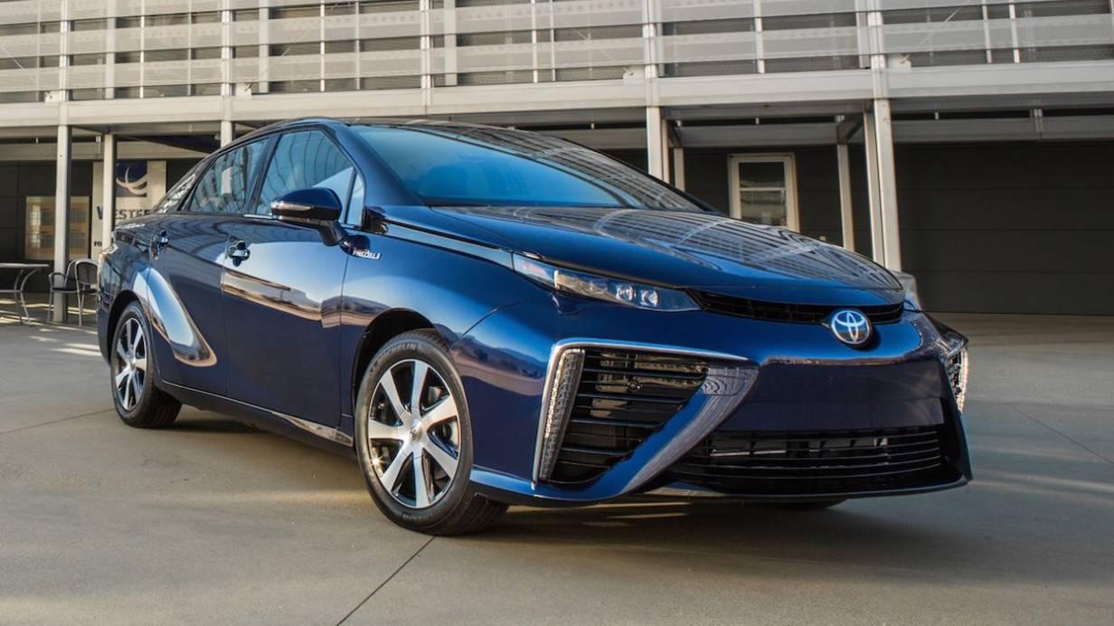 Das ist der Toyota Mirai.