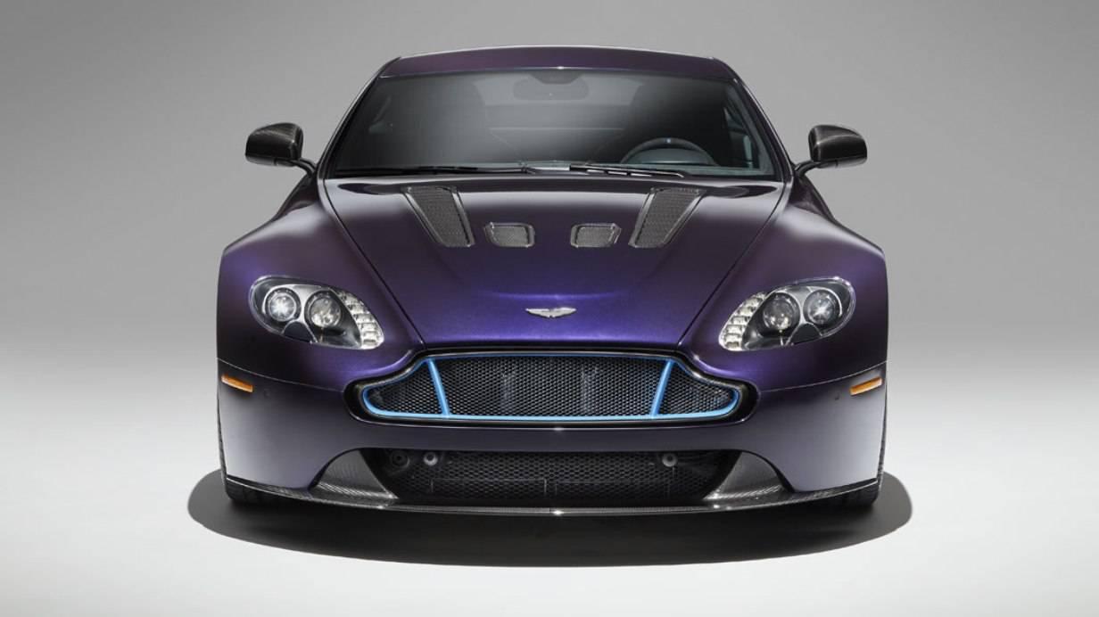 V12 Vantage S in Vivid Purple