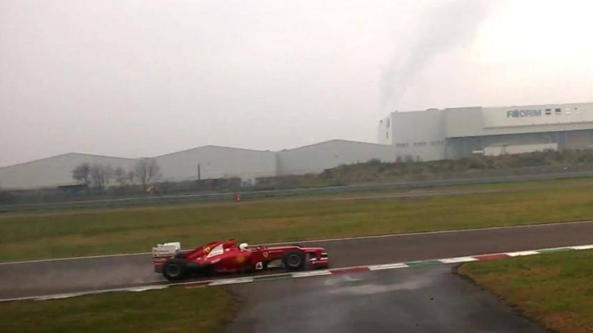 """Der Schriftzug auf Vettels Helm: """"Mein erster Tag im Ferrari"""""""