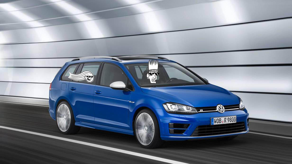 der vw golf r variant feiert auf der los angeles autoshow weltpremiere. Black Bedroom Furniture Sets. Home Design Ideas