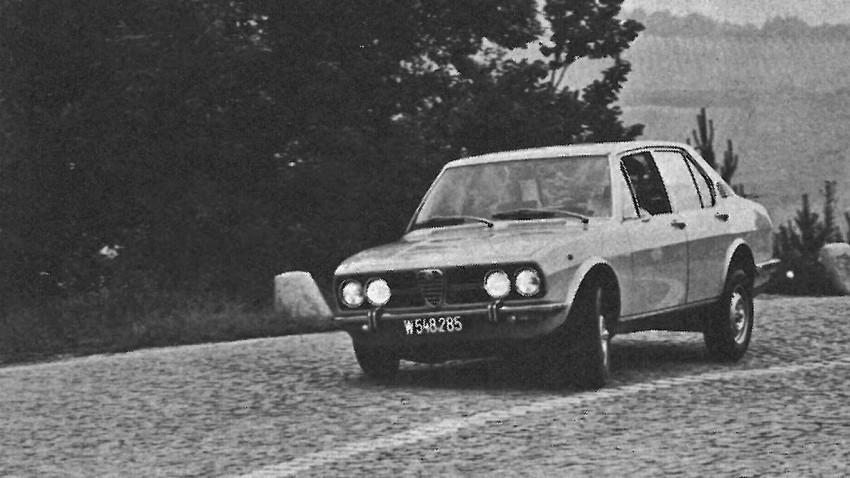 Fifty-fifty: Alfa Romeo Alfetta