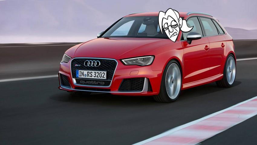 Der neue Audi RS3 Sportback