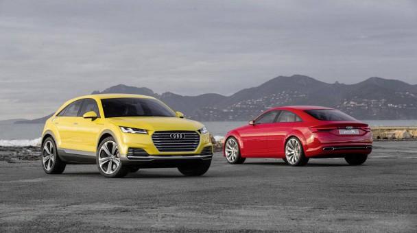 Audi TT Sportback vs. Offroad