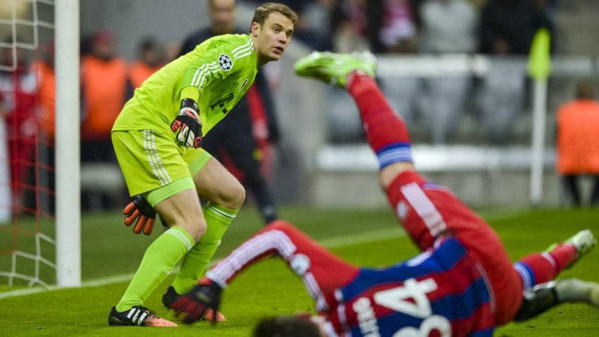 Bayern München gegen Freiburg am 16.12.2014 um 20:00 Uhr.