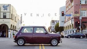Der Classic Mini ist in Los Angeles ein gerne gesehener Gast