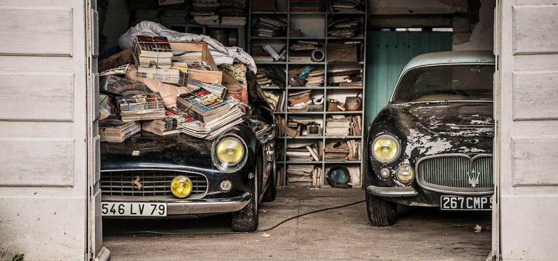 Dieser 60 Autos umfassende Scheuenfund wird am 6. Oktober in Paris versteigert.
