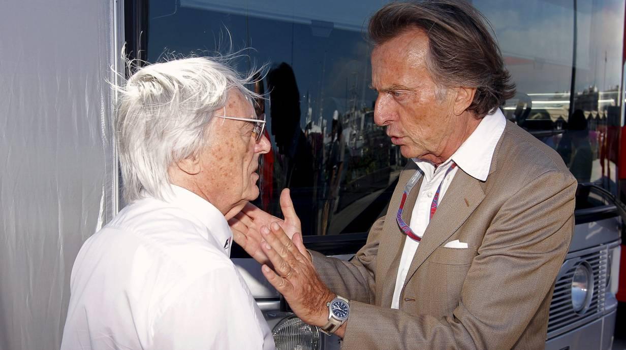 Im Vorstand wieder vereint: Ecclestone und Montezemolo
