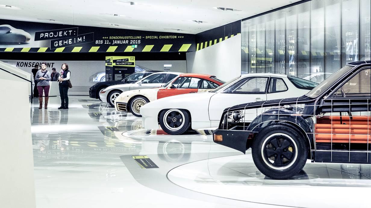 Porsche Museum Sonderausstellung - Projekt: Geheim!