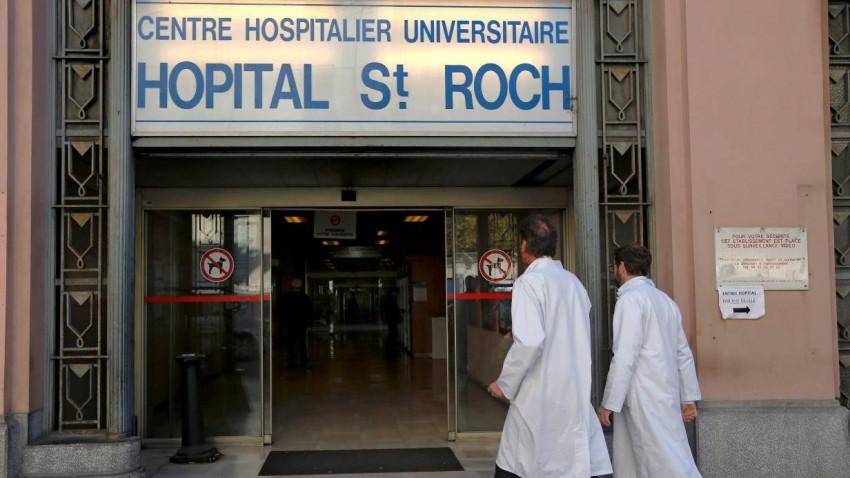 In diesem Krankenhaus in Nizza liegt Jules Bianchi.