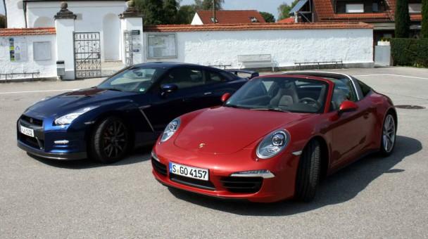 _Vergleich-Porsche-911-Targa-4S---Nissan-GT-R-(8)