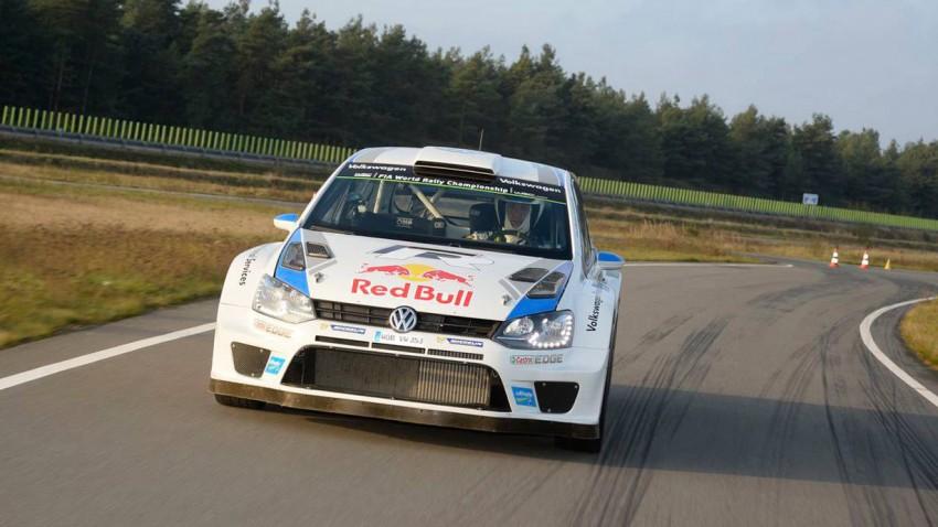 Der VW Polo R WRC, das Weltmeisterauto von Sebastian Ogier.