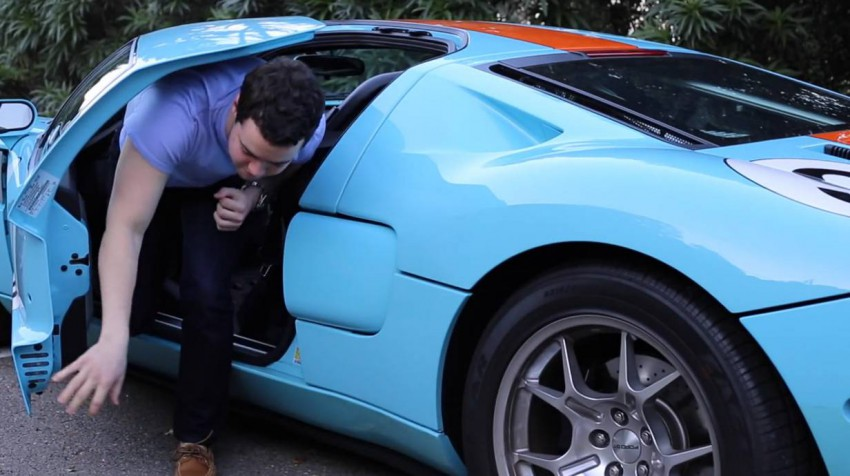 5. Wer die Türen des GT nicht zur Gänze öffnen kann, wird beim Aussteigen seine Probleme haben.