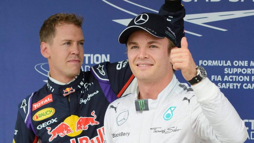 Rosberg > Vettel?