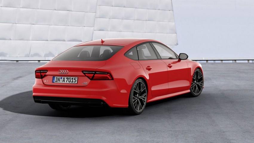 Audi A7 Modellpflege 2015