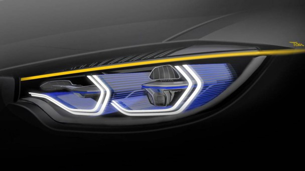 BMW M4 Concept Iconic Lights CES 2015 12
