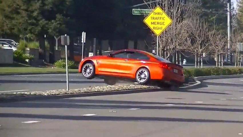 Nicht jeder kann einen BMW M4 fahren