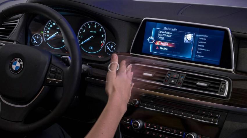 Das neue BMW-iDrive-Bedienkonzept