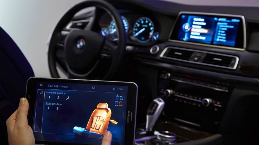 BMW Touch i-Drive