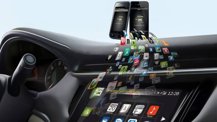 Bosch integriert das Smartphone