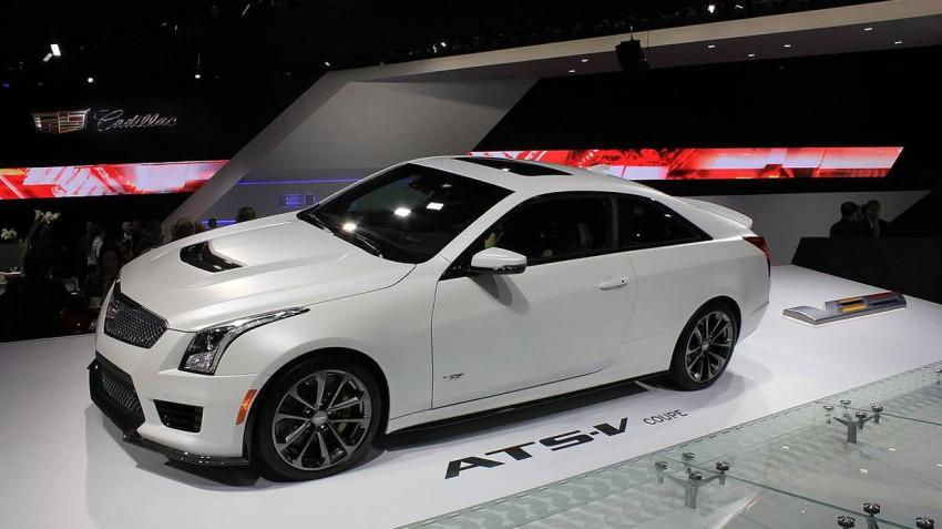 Cadillac ATS V Coupe