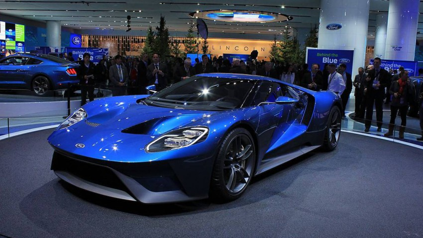 Der Ford GT. Foto (c) press-inform