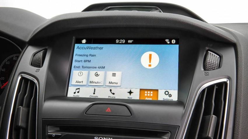 Ford Wetter-App Warnung
