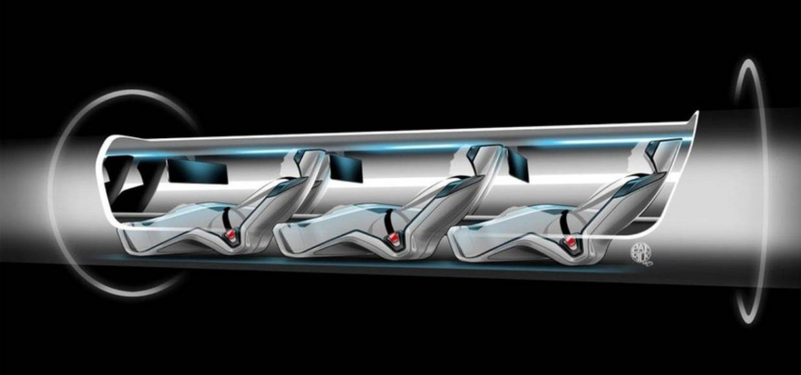 (c) Bild: Hyperloop Transportation Technologies