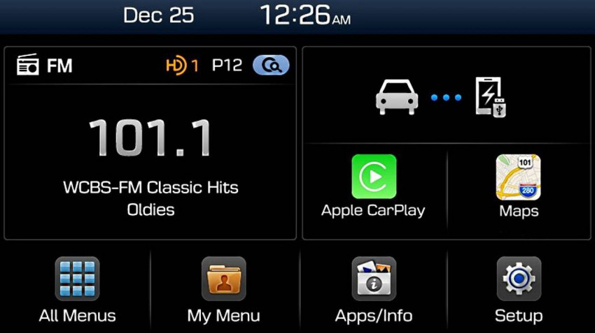 Hyundai Infortainment Integration Apple Car Play